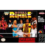 WWF Royal Rumble SNES SUPER NINTENDO Video Game - $17.97
