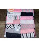 Wonder Nation ~ Girls Tagless 14-Pair Underwear Briefs Cotton (A) ~ Size 4 - $16.82