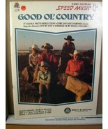 Easy-To-Play Speed Music #124 Good Ol' Country 1983 - $8.99