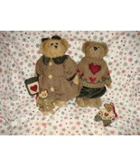Boyds Bears 1997 Fall Bailey And Matthew Plush & Ornament Set - $35.99