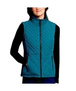 NWT Andrew Marc Quilted Teal Vest - $22.77