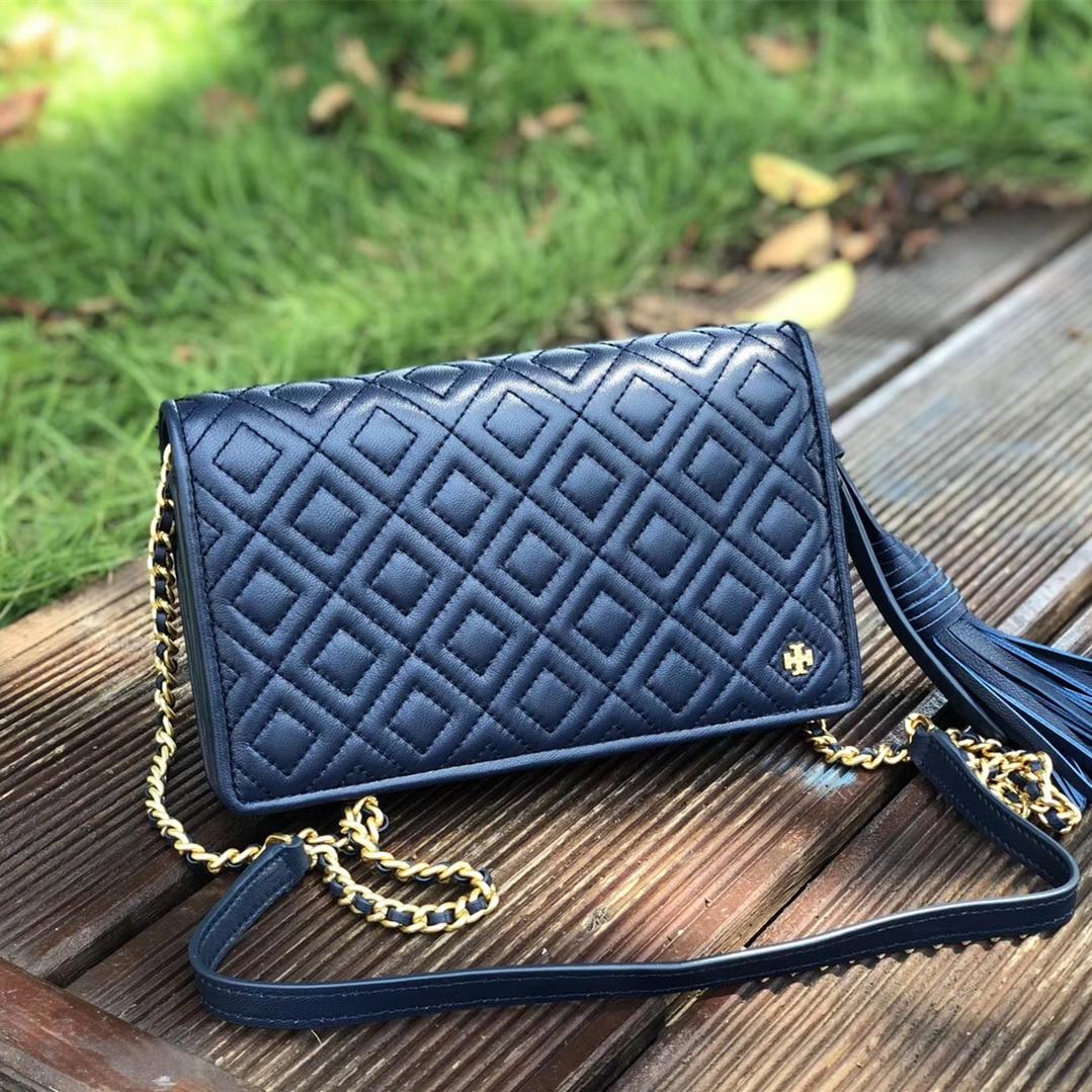 56238066e009 Tory Burch Fleming Flat Wallet Crossbody Bag and 50 similar items. Img 5053