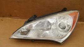 10-12 Hyundai Genesis Coupe Headlight Head Light Halogen Driver Left LH image 2