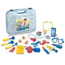 Learning Resources Pretend & Play Doctor Kit for Kids, 19 Piece Toy Set ... - $39.99