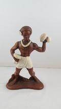 Vintage Hula Figurine - Beach Body Dancer by Treasurecraft Hawaii - $65.00