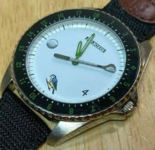 Vintage Joe Boxer By Timex Mens Golf Theme Analog Quartz Watch Hours~New... - $32.29