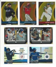 2012 BOWMAN INSERTS ( DRAFT, CHROME, BEST ) ALL LISTED - WHO DO YOU NEED!! - $0.99+