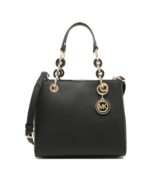 MICHAEL KORS Cynthia Small Leather Satchel Shoulder Bag Women - $287.50