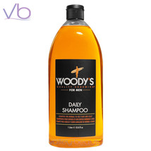Woody's Daily Shampoo For Men 1000ml, Normal To Oily Hair Paraben Free, ... - $21.50