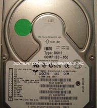 IBM DGHS-04D 4GB SCSI 80 PIN 3.5in Drive 6 Instock Tested Good Free USA ... - $24.95