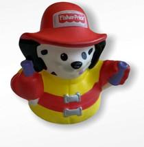 Fisher Price Little People Dalmatian Dog Fireman Animalville 2009 - $7.91