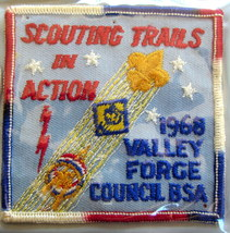 BOY SCOUT 1968 SCOUTING TRAILS IN ACTION VALLEY FORGE - $11.48