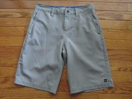 QuikSilver Youth Boys Size 25 Gray Amphibian Shorts - $17.70