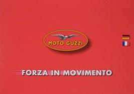 Moto Guzzi Motorcycle Brochure, Range, 1999 2000 - $11.96