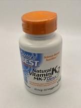 Doctors Best Natural Vitamin K2 MK-7 with MenaQ7, Non-GMO, Vegan, Gluten Free, - $11.75