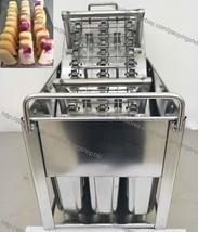 30pcs Striped Ice Pops Stainless Steel Frozen Yogurt Ice Pop Freezer Mol... - $237.60
