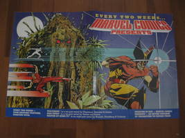 "(MX-6) 1988 Marvel Comics Promotional Poster: Marvel Comics Presents - 11"" x 17"" - $20.00"