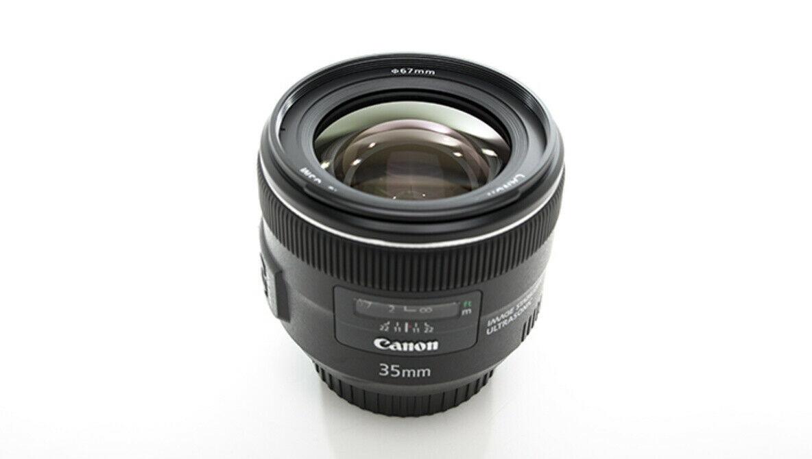 Canon EF 35mm f/2 EF Lens 35.2 35mm 2.0