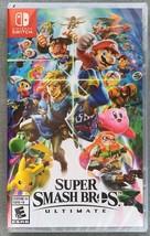 Super Smash Bros. Ultimate (Nintendo Switch, 2018) Factory sealed - $51.98