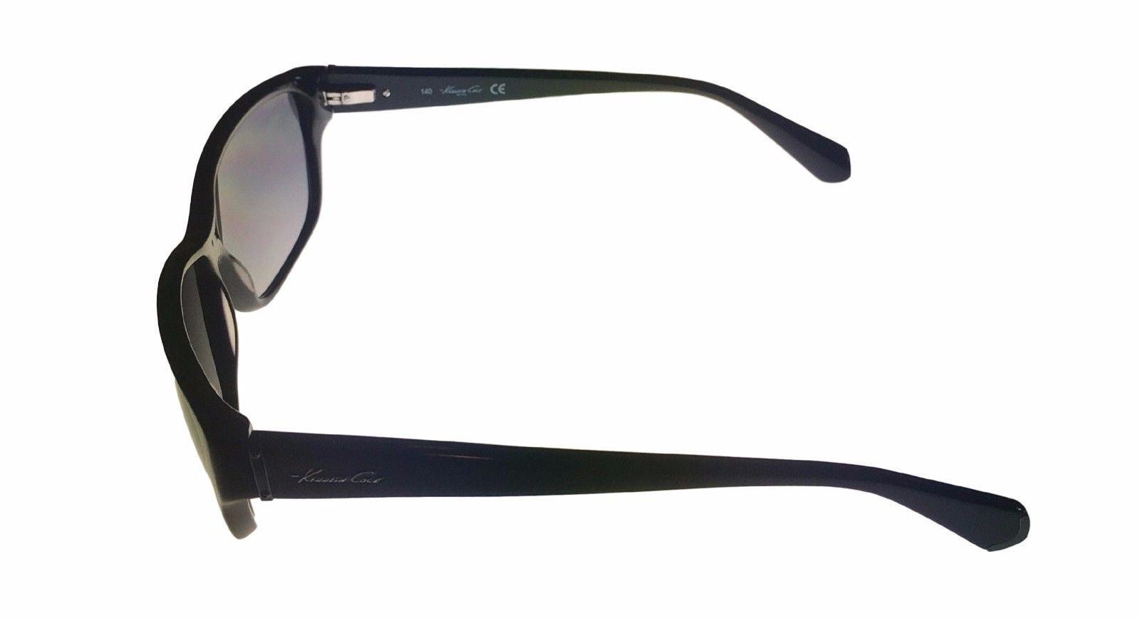 Kenneth Cole New York Mens Sunglass Soft Square Black, Smoke Lens KC7034 1B image 3