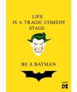 Dargini Color Wall Poster Prints Batman Joker Office Living Room Decor 42 x 30cm - $8.99 - $9.99