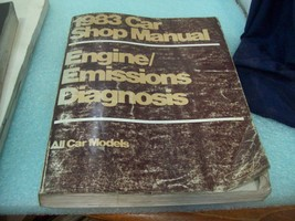 1983 Ford Lincoln Mercury Engine Emissions Diagnostic Procedure Manual Book OEM - $10.88