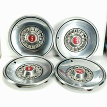 Vintage 1979-1983 Ford LTD Red Hubcaps Set of 4 - $79.99