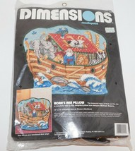 Dimensions NOAH'S ARK PILLOW Needlepoint Kit #2422 New - $36.72