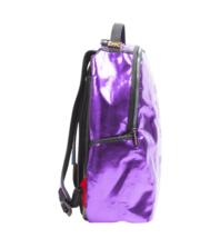 Sprayground Purple Fine Gold Brick Money Urban School Book Bag Backpack 910B1748 image 3