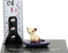 Hagen Reanker Miniature Cat Siamese Kitten Sitting on Base Stepping Stones #2734 image 2