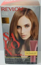 Revlon New Salon Color 6 Light Auburn Brown Color Booster Kit For Week 3 And 6 - $12.86