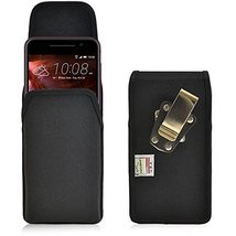 Turtleback Belt Clip Case Made for HTC One A9 Black Vertical Holster Nylon Pouch - $37.99