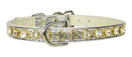Mirage Pet Products No.16 Dog Collar, 12-Inch, Silver - $16.22