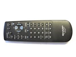 Sharp G1237CESA Tv Remote Fits 25HS100, 27HS100, 27HS120 B13 - $14.95