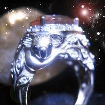 HAUNTED UNIQUE RING CRYSTALLINE FIRE GAIN EXTRAORDINARY GIFTS SECRET OOAK MAGICK - $7,997.77