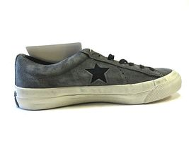 NEW Converse x John Varvatos Grey Star Shoes Size Men's 5.5 Women's 7.5 Low Top image 6