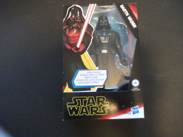Star Wars Galaxy of Adventures Force Slash! Darth Vader Action Figure New - $10.99