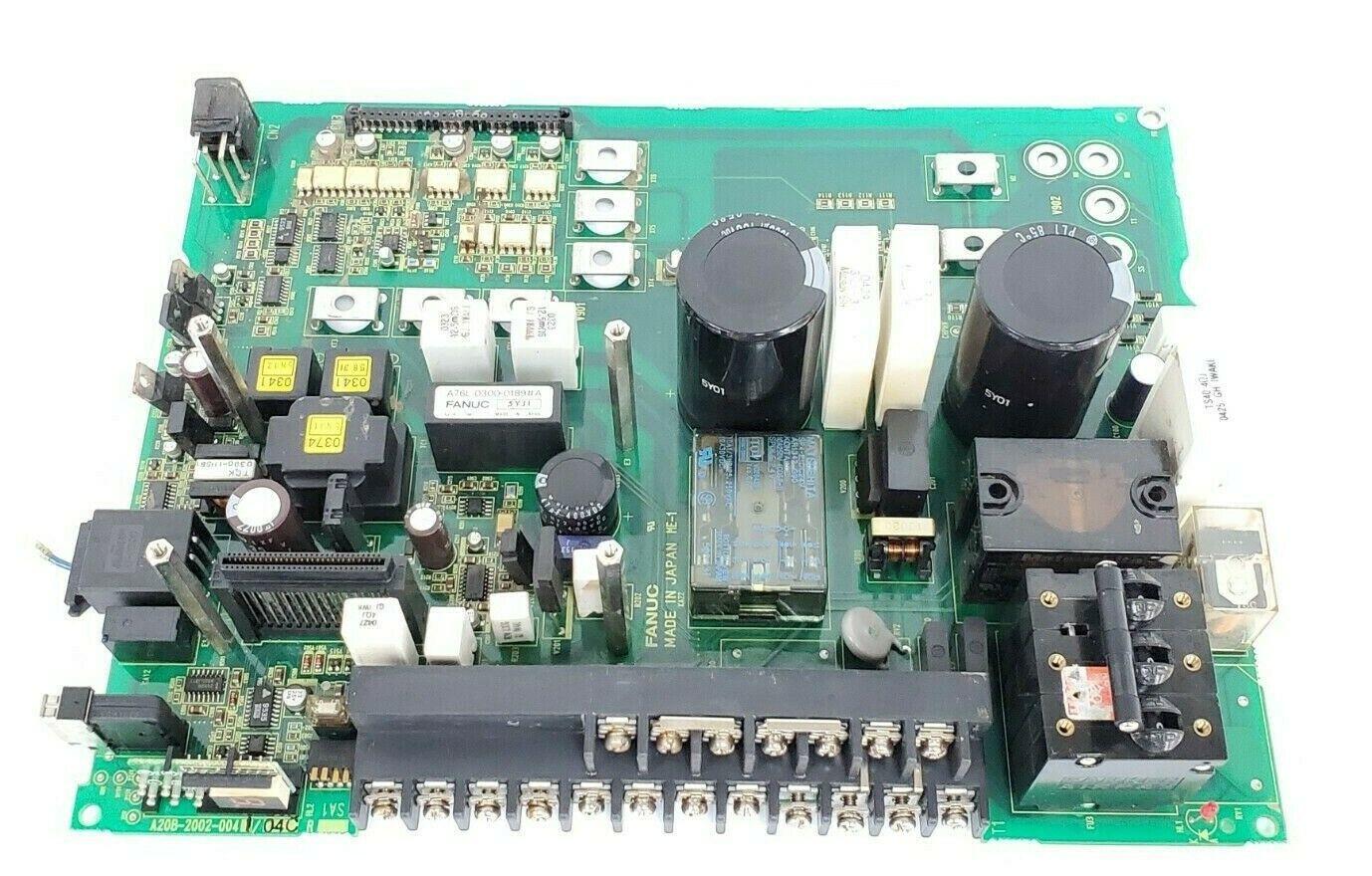FANUC A20B-2002-0041-04C PC BOARD POWER CIRCUIT A20B-2002-0041