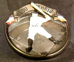 Hallmark Handcrafted Ornaments Baseball Heroes Satchel Paige and Lou Gehrig AA-1 image 12