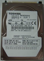 "New Toshiba MK8032GAX HDD2D15 80GB 2.5"" IDE 44PIN Hard Drive Free USA Ship - $48.95"