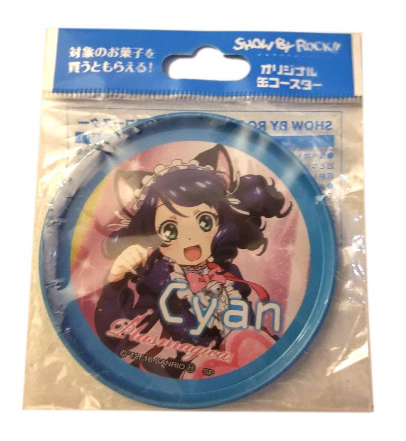 "Show by Rock!! ""Cyan"" Anime Tinplate Button"