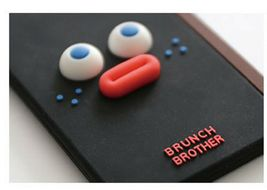 Brunch Brother Suitcase Luggage Tag Poped Eyes Baggage Travel Bag (Burnt Toast) image 6