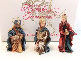 Avon 2002 Three Kings Ornament Set New In Box Collectible Gift - $18.70