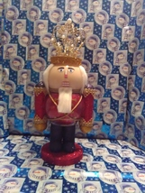 Handmade Glass Christmas Nutcracker - $45.94