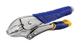 NEW Vise-Grip 10 in. L Locking Pliers Cushion Grip Alloy Steel Wire Cutt... - $21.97