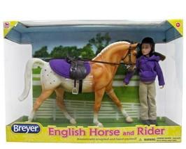 Breyer  (Classics) English Horse & Rider Doll Set (1:12 Scale)  61069 <> - $29.02