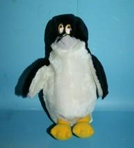 Sea World Plush Penguin 1987 Stuffed Animal Soft Toy Cartoon Plastic Eye... - $19.34