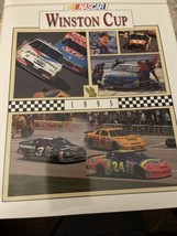 Very nice Nascar 1995 Winston Cup HTF Yearbook-Jeff Gordon Champion - $9.90