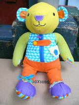 Manhattan Toy Parents Busy Hands Colourful Bear Dress Up Plush - $18.53