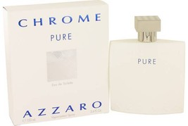 Azzaro Chrome Pure Cologne 3.4 Oz Eau De Toilette Spray image 2
